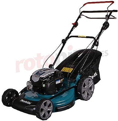 Makita PLM5600N2 Walk behind lawn mower Gasolina Negro, Azul ...