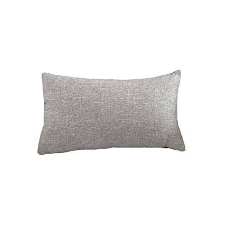 Q.Kim Color Sólido Fundas de Cojines Almohada Hogar Decor Duradero Algodón Lino Funda de Almohada Decoración para Sofá Cama Coche-Cuatro tamaños