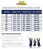 Cappe Diem Masters Graduation Deluxe Black Cap