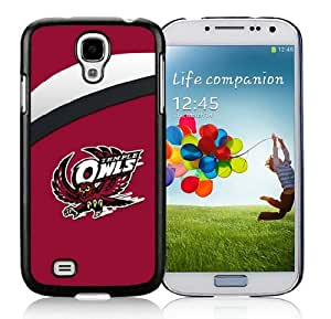 Custom Samsung Galaxy S4 I9500 Case Hit Color Stripe Cover for Guys Ncaa Temple Owls