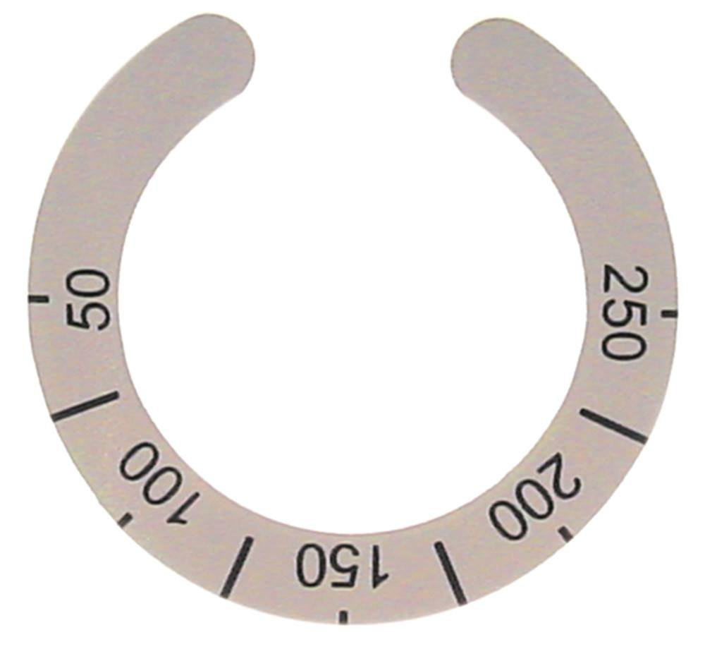 Star10 - Símbolo de mordaza para termostato C87FE, C127FE ...