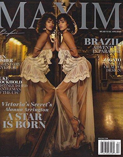 Maxim Magazine (March/April, 2018) Alanna Arrington Cover