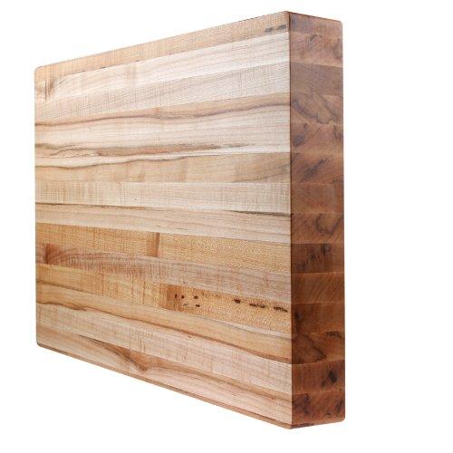 Kobi Blocks Maple Edge Grain Butcher Block Wood Cutting Board 18''x26''x2'' by Kobi Blocks