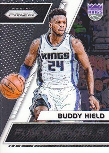 2017-18 Panini Prizm Basketball Fundamentals #34 Buddy Hield Sacramento Kings