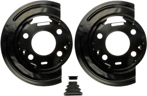 Rear Backing Plate (Dorman 924-223 1PR. Rear L&R Brake Dust Shield Backing Plate 88982584 88982585)