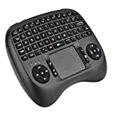 TUPELO 2.4GHz Wireless Mini Handheld Keyboard Air Fly Mouse with Touchpad Mouse for Android TV Box Raspberry HTPC Smart TV - Rechargable Li-ion Battery