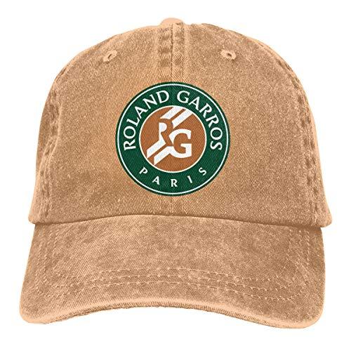 Jerryit French Open Logo Baseball Cap Adjustable Adult Cowboy Hat