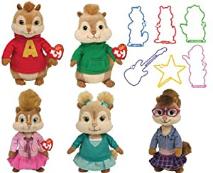 Alvin and the chipmunks plush toys at target right! like