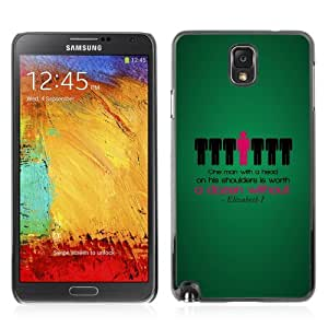 Designer Depo Hard Protection Case for Samsung Galaxy Note 3 N9000 / Deep Message