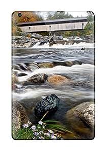 Premium Tpu Ammonoosuc River In New Hampshire Cover Skin For Ipad Mini/mini 2