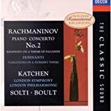Piano Concerto 2 / Rhapsody on a theme of Paganini / Variations on a Nursey Theme