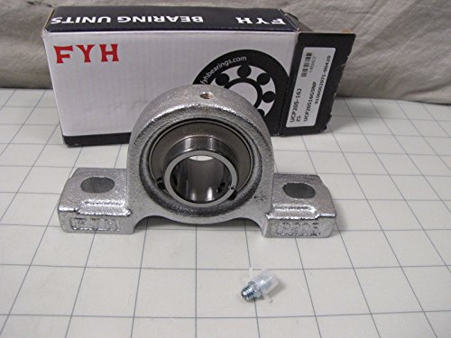 "FYH UCP205-16J Pillow Block Bearing Unit 1"" Bore 4-1/8"" Center Hole to Center from FYH"