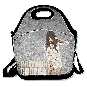 Bakeiy Priyanka Chopra Poster Lunch Tote Bag Lunch Box Neoprene Tote