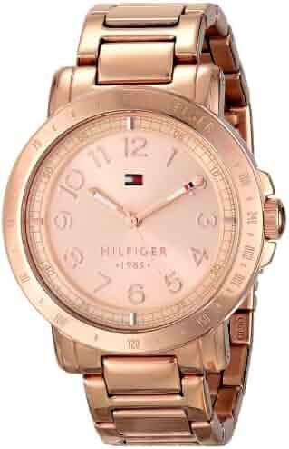 Tommy Hilfiger Women's 1781396 Rose Gold-Tone Watch