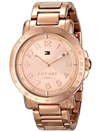 Tommy Hilfiger Women's 1781396 Analog Display Quartz Watch, Rose Gold