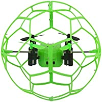 Owill Helic Max Sky Walker 1340 2.4GHz 4CH Fly Ball RC Quadcopter 3D Flip Roller (Green)