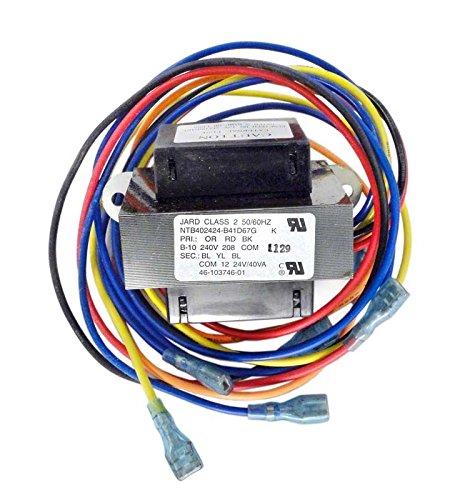 Transformer Raypak (Raypak H000021 12-24V Digital Transformer for RHP 5350, 6350 & 8350 Heat Pumps)