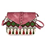 "Backpack, MagicQueen Girls Leather Backpacks Schoolbags Travel Shoulder Bag 5.17.87.9"" (Pink)"