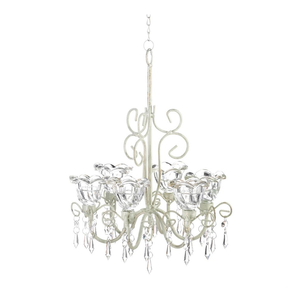 Home Locomotion Crystal Blooms Candle Chandelier Koehler home decor SLC-10016076