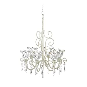 Home Locomotion Crystal Blooms Candle Chandelier