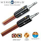 WIREWORLD Nano-Eclipse Audio Mini Jack to Mini Jack Male Cable - 1.0M