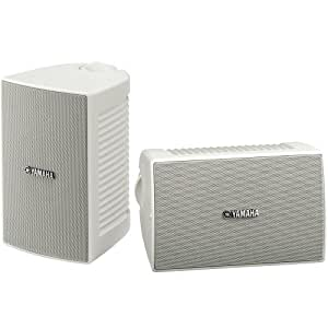 Yamaha NS-AW194WH High-Performance All-Weather Speakers White