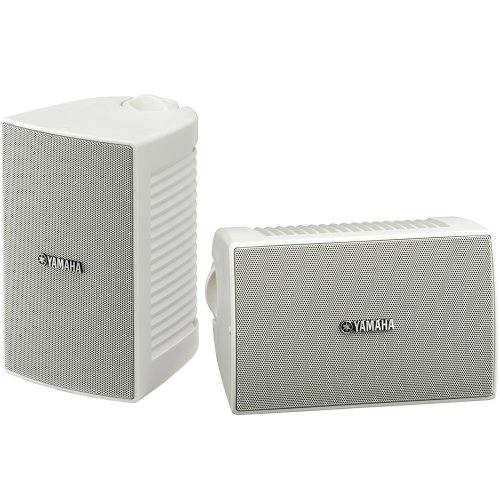 Yamaha NS-AW194WH High-Performance All-Weather Speakers, Whi