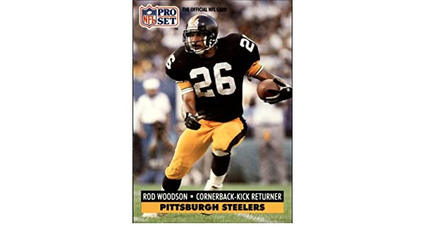 ed61f01fd71 ... Jersey L Large vintage rod woodson snapback steelers starter youth OSFA  Amazon.com 1991 Pro Set Football Card 278 Rod Woodson Near MintMint  Collectibles ...