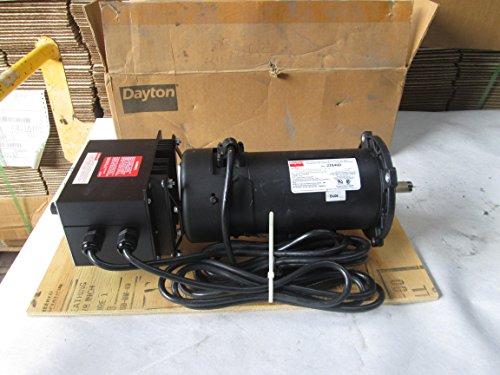 Dayton 2Z846D Permanent Magnet Dc Motor w/ DC Speed Control T54721 Dayton Permanent Magnet