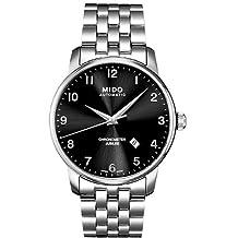 Mido Men's MIDO-M86904181 Baroncelli Analog Display Swiss Automatic Silver Watch