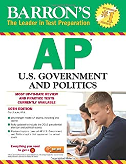 Amazon barrons ap us government and politics 8th edition barrons ap us government and politics 10th edition fandeluxe Image collections