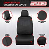 Motor Trend Super Sport Gray Faux Leather Car Seat