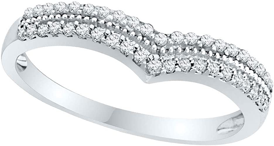 FB Jewels 18k White Gold 1.5mm Mens Wedding Flat Ring Band