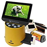 "Wolverine Titan 8-in-1 High Resolution Film to Digital Converter with 4.3"" Screen"