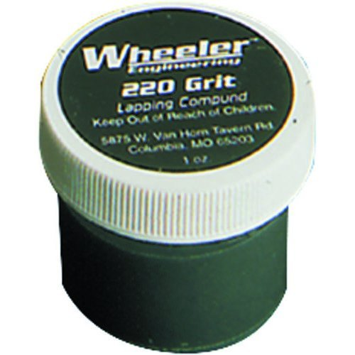 Wheeler Replacement 220 grit Lapping Compound - 1 oz. jar