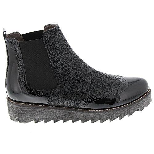para Chelsea 00537 Negro Mujer Black Botas Marc Katy Shoes q8IqtS