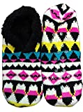 Womens XOXO Warm Colorful Knit Sweater Socks, 1 Pair (M/L (Size 8-10), Style D)