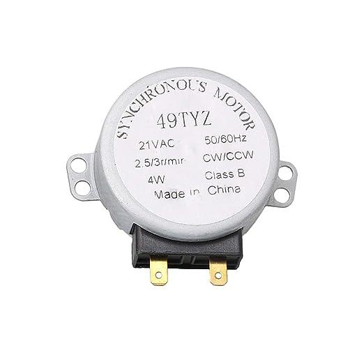 RDEXP WB26X10038 - Motor Giratorio de Metal para microondas ...