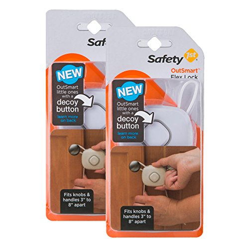 Safety 1st OutSmart Flex Lock, 2 Pack, (First Lock)