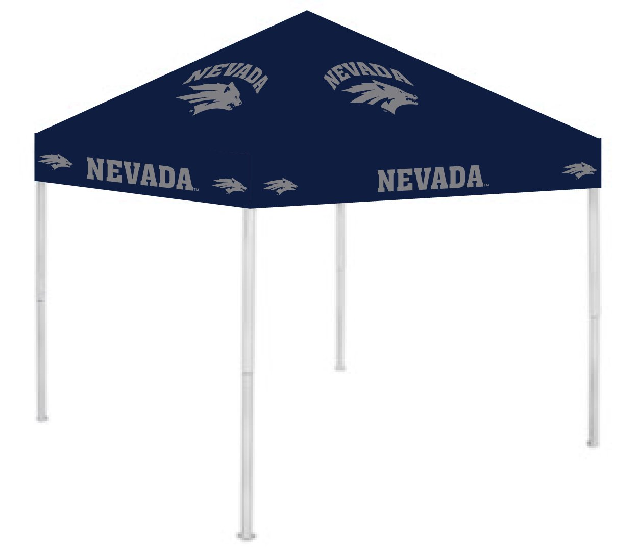 Rivalry RV290-5000 9' x 9' Ultimate Tailgate Pop-Up Gazebo Canopy Tent B004NWEGGK 9 x 9|Nevada Wolf Pack Nevada Wolf Pack 9 x 9