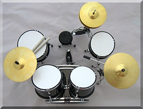 LUDWIG Miniature Mini Drum Set Drumset FOR DISPLAY ONLY
