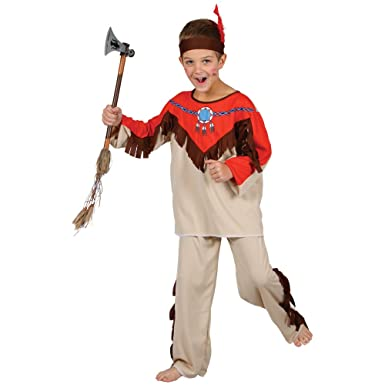 Native American Indian  sc 1 st  Amazon UK : native american costume for boys  - Germanpascual.Com