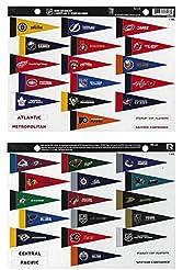 NHL Rank 'Em All 31 Teams Mini Pennant M...