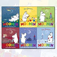 Moomin Collection Tove Jansson 6 Books Bundle (Moomin and the New Friend, Moomin and the Winter Snow, Moomin and the Wishing Star, Moomin and the Moonlight Adventure, Moomin and the Favourite Thing, Moomin and the Birthday Button)