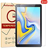 Aolander [2-Pack] Screen Protector for Samsung Galaxy Tab A 10.1 (2019) Tablet, [2.5D Round Edge] [9H Hardness] [High Definition] [Bubble Free] Tempered Glass Screen Protector (10.1 inch)