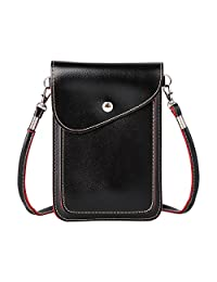 xhorizon TM SR Universal Multipurpose Elegant PU Leather Crossbody Single Shoulder Bag Cellphone Pouch/Purse with Shoulder Strap For iPhone SE 6/6S Plus,Samsung S5 S6 S6edge S7 S7edge, LG G3 G4 G5