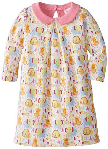 (Zutano Baby Girls' Jungle Boogie Peter Pan Dress, Multi, 18 Months)