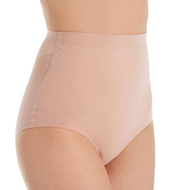 648400af9f8f Wolford 3W Control Panty High Waist Rose Tan Size 34: Amazon.co.uk: Clothing