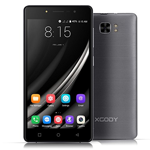 Xgody X17 Android 6.0 IPS 5.0 Inch Screen Cell Phones