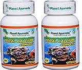 Planet Ayurveda Coral Calcium, 625mg Veg Capsules - 2 Bottles